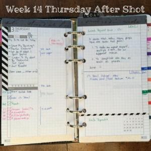 Week 14 Thursday After Shot