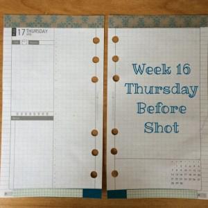 Week 16 Thursday Before Shot
