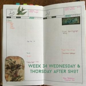 Week 34 Wednesday & Thursday After Shot