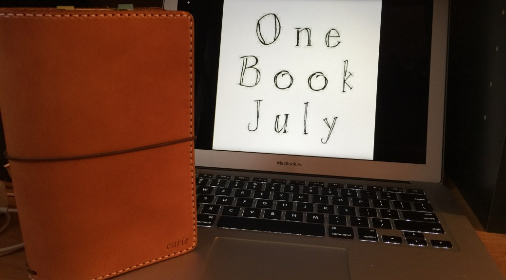 One Book July 2015 Intro