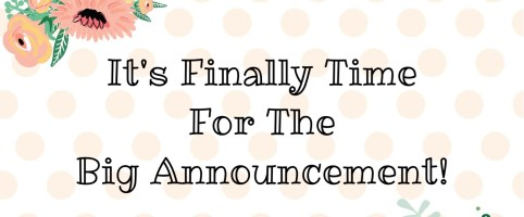 Big Announcement!!