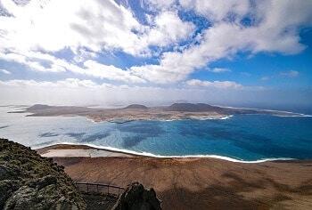 Panorama à Lanzarote.