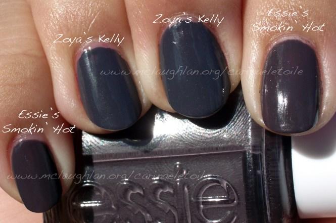 Smokin Hot Deep Dark Gray Nail Polish By Essie
