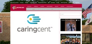 caringcent webpage