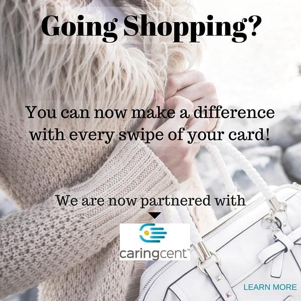 Going shopping - CaringCent partnership