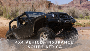 4x4 Vehicle Insurance South Africa