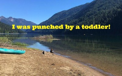 Did this Really Happen? Punched by a Toddler!