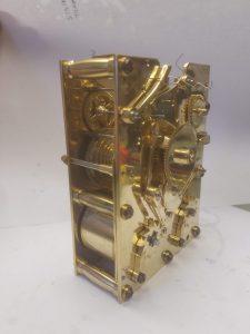 Fusee carriage clock mechanism