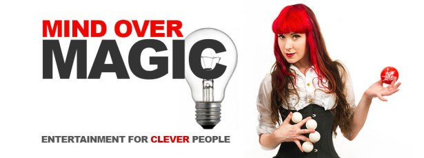 Magic Show mind over magic female magician