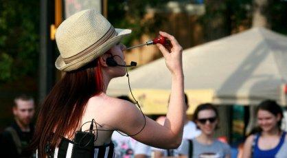 Carisa Hendrix Street Performer in Saskatoon