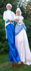 Stilt Ice King and Queen - Photography by Bryce Murdoch