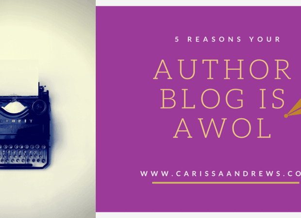 5 Reasons Your Author Blog is AWOL