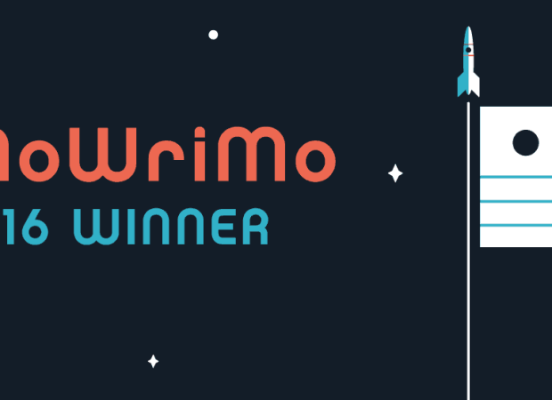Certificate of award for NaNoWriMo 2016