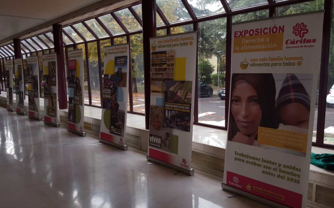 Exposición de Cooperación Internacional en la UBU
