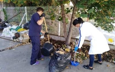 Curso de limpieza en espacios abiertos