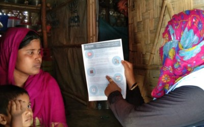 Protección, empoderamiento y resiliencia de las mujeres y niñas rohingyas refugiadas en Bangladesh