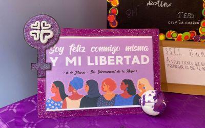 Cáritas colabora en la exposición con motivo del 8 de Marzo en Miranda