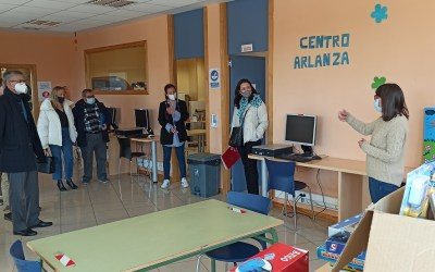 La Fundación Cajacírculo y el ayuntamiento de Lerma siguen apoyando la labor del Centro Arlanza