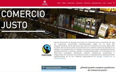 Nueva web dedicada al Comercio Justo