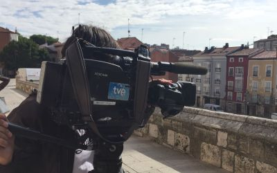 Televisión Española en Cáritas Burgos
