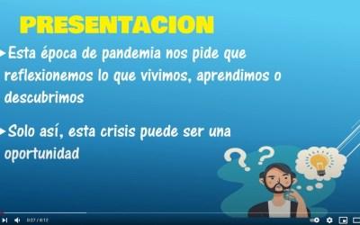 """""""El mundo tras la pandemia"""", vídeo de Aranda para la reflexión"""