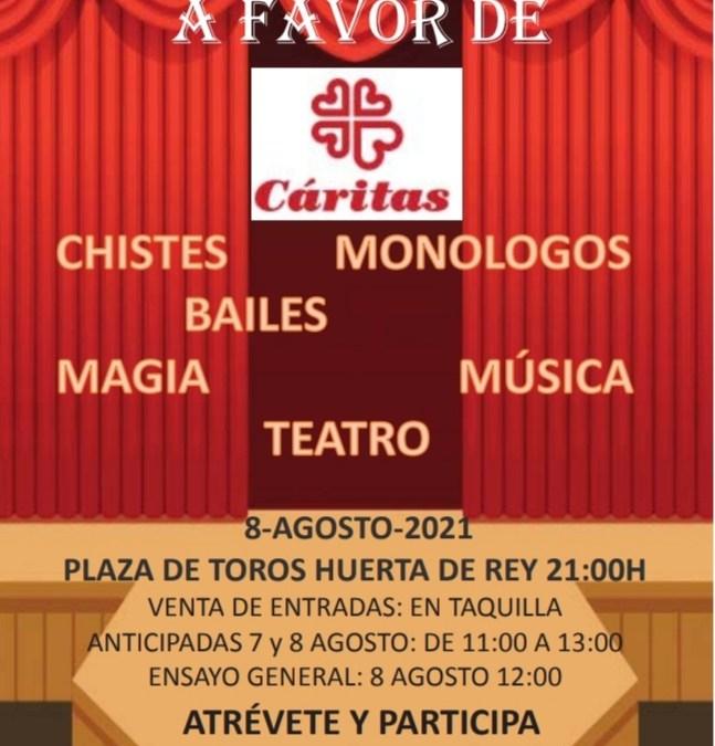 Festival en Huerta del Rey a beneficio de Cáritas