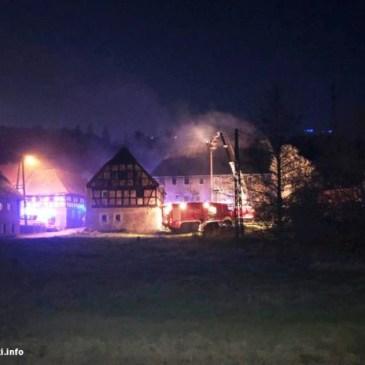 Pożar w Skorzynicach