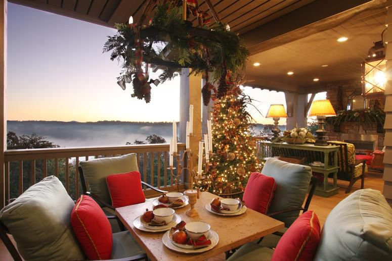 Southern Living Christmas House by Carithers Flowers ... on Southern Outdoor Living id=67402