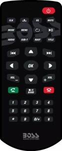 BOSS Audio BV9364B wireless remote control