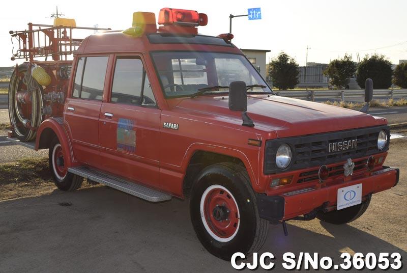 Daihatsu Mini Truck Fire