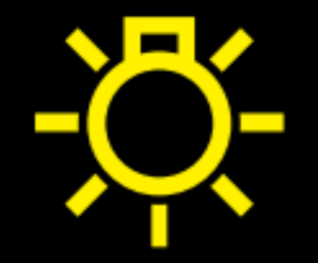 Yellow Light Symbol On Dashboard | Decoratingspecial.com