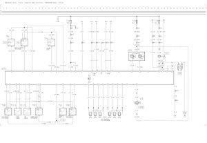 Volvo F12  wiring diagram  engine ecu, fuel injection