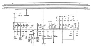 Acura Integra (1991)  wiring diagrams  instrumentation  CARKNOWLEDGE
