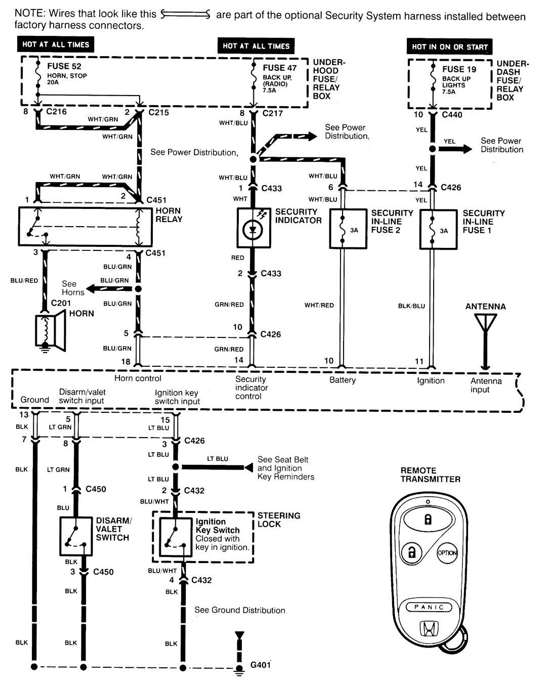 Acura Integra Instrument Cluster Wiring Diagram