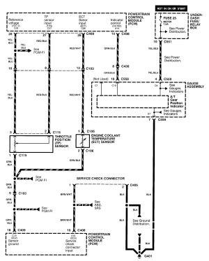 Acura Integra (2000  2001)  wiring diagrams