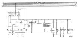 Acura Integra (1992)  wiring diagrams  turn signal lamp