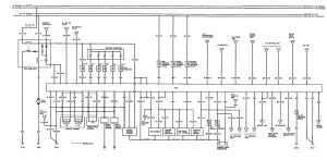 Acura Vigor (1992)  wiring diagrams  body controls