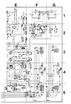 Volvo 245 (1989)  wiring diagrams  audio  CARKNOWLEDGE