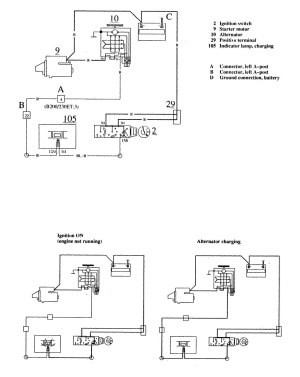 1989 Volvo 240 Battery Wiring Diagrams • Wiring Diagram For Free