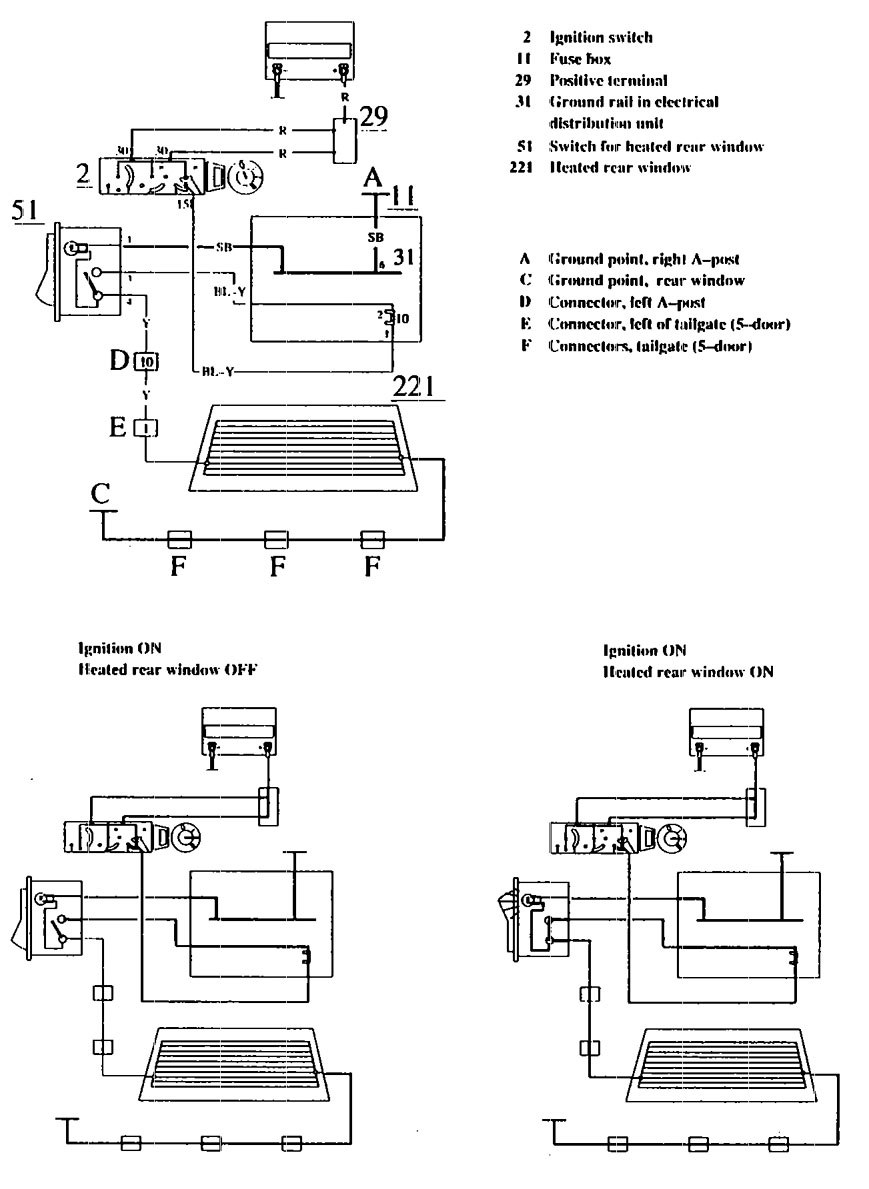 Jeep Rear Defogger Timer Relay Defrost Wiring Diagram
