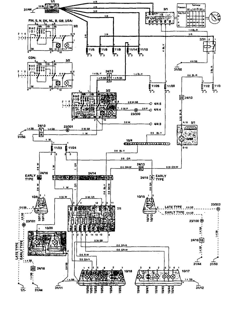 Volvo 850 tail light wiring new wiring diagram 2018