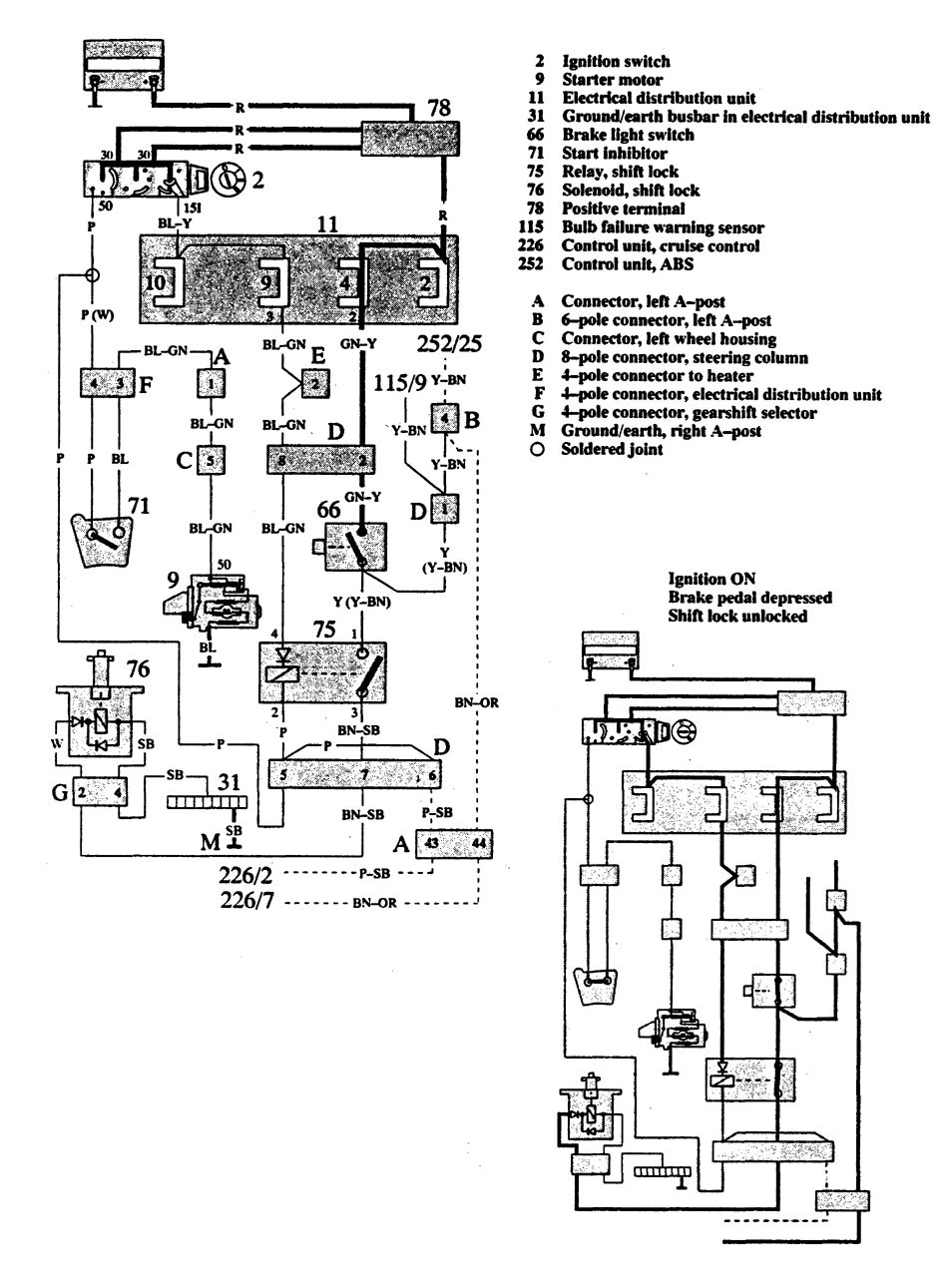 volvo 91 240 wiring diagrams