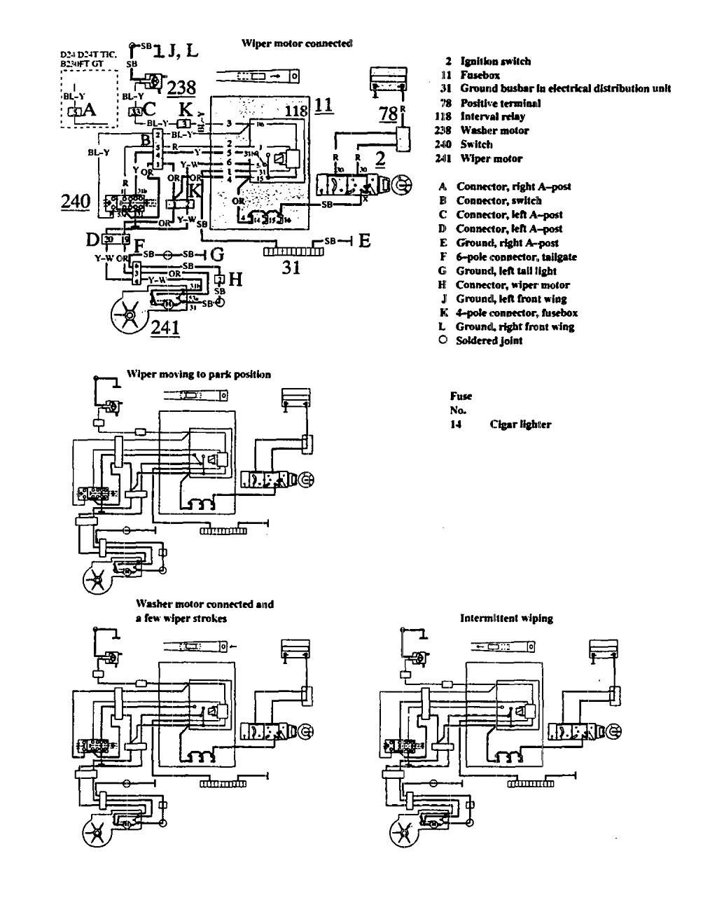 1995 Volvo 940 Wiring Diagram Schematics Semi Truck Internal Diagrams Pontiac Firebird