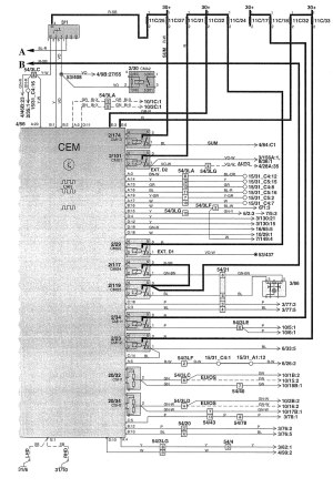 Volvo V70 (2003)  wiring diagrams  body controls