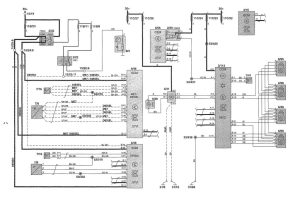 Volvo V70 (2002)  wiring diagrams  HVAC controls