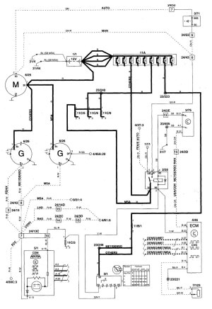 Volvo C70 (1999  2004)  wiring diagrams  charging