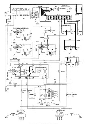 Volvo C70 (1999  2004)  wiring diagrams  headlamps
