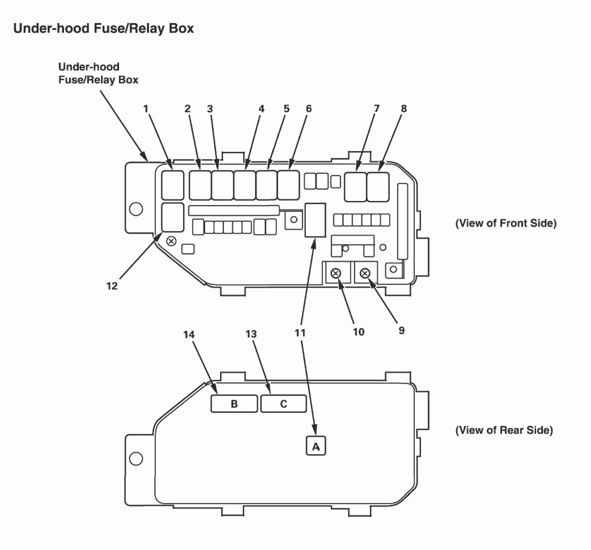 99 Ford Ranger Fuse Box Diagram