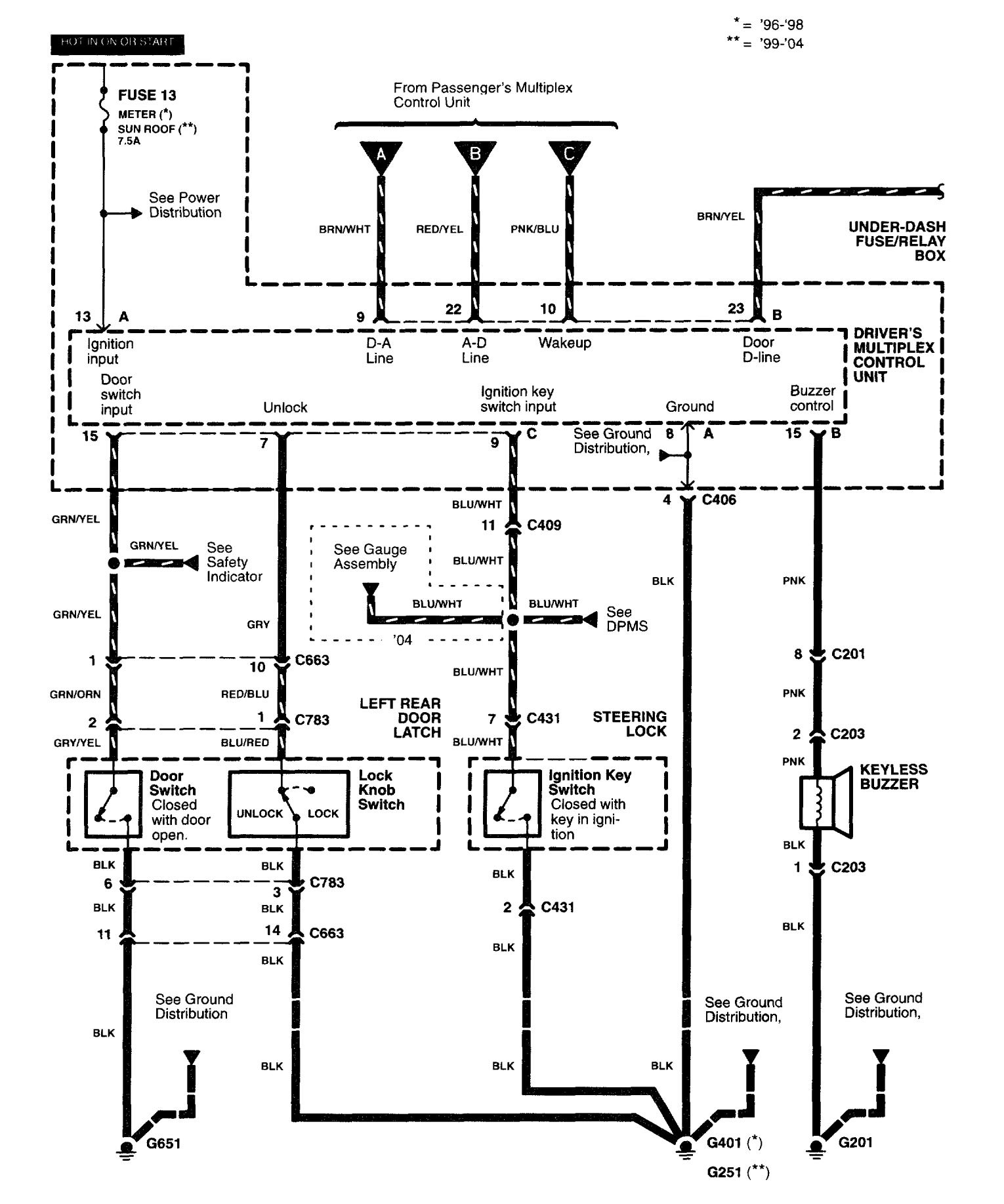 Wiring Diagrams For Suzuki Forenza