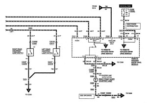 Ford F53 (1997)  wiring diagrams  keyless entry